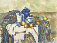 Still Life with Blue Pot / Cezanne