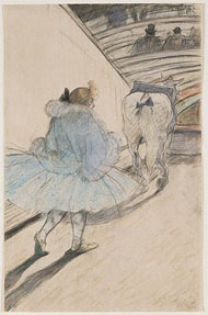 At the Circus / Toulouse-Lautrec