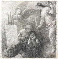 Discouraged Artist / Fantin-Latour