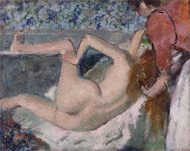 After the Bath / Degas