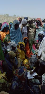 Registration of Internally Displaced People, Eastern Chad / Delahaye