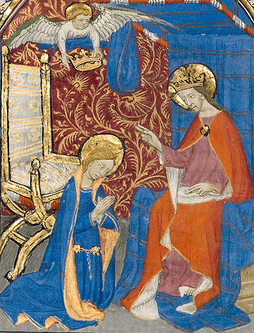 The Coronation of the Virgin / Master of the Harvard Hannibal