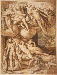 Venus and Mars Surprised by Vulcan / Goltzius