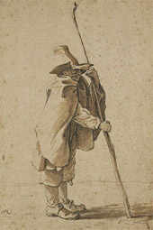A Young Herdsman Leaning on His Houlette / Saftleven
