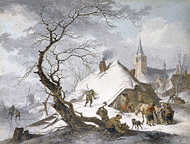 A Winter Scene / Meyer