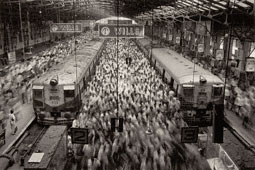 Church Gate Station, Western Railroad Line, Bombay, India / Salgado