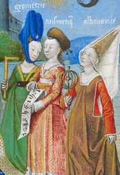 <i>Philosophy Presenting the Seven Liberal Arts to Boethius</i>