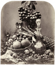 Decanter and Fruit / Fenton