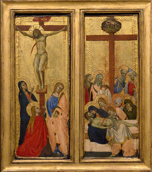 The Crucifixion; The Lamentation / Master of the Dominican Effigies
