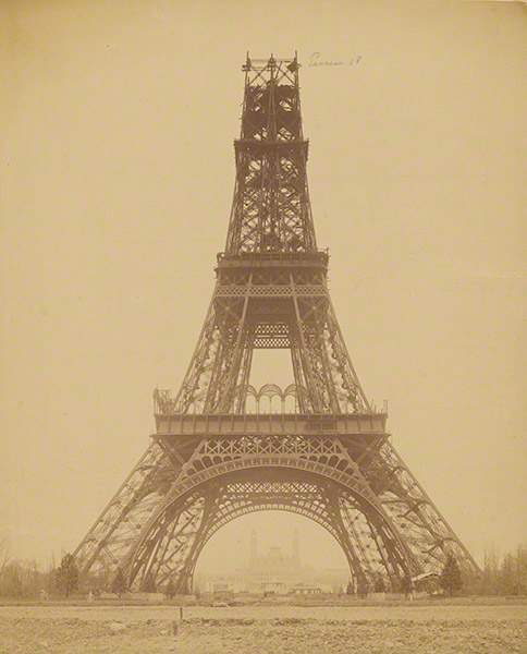 The Eiffel Tower: State of the Construction