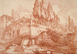 Ruins of an Imperial Palace / Fragonard