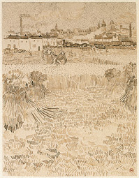 Arles: View from the Wheatfields / van Gogh