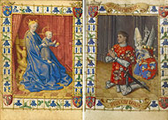 Virgin and Child and Simon de Varie / Fouquet