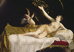 Danaë and the Shower of Gold / Gentileschi