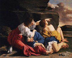 Lot and His Daughters / Gentileschi