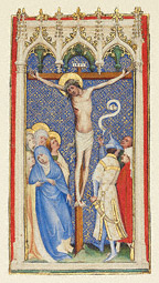 The Crucifixion / M Saint Veronica