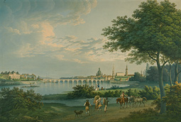 View of Dresden / Christian Gottlieb Hammer