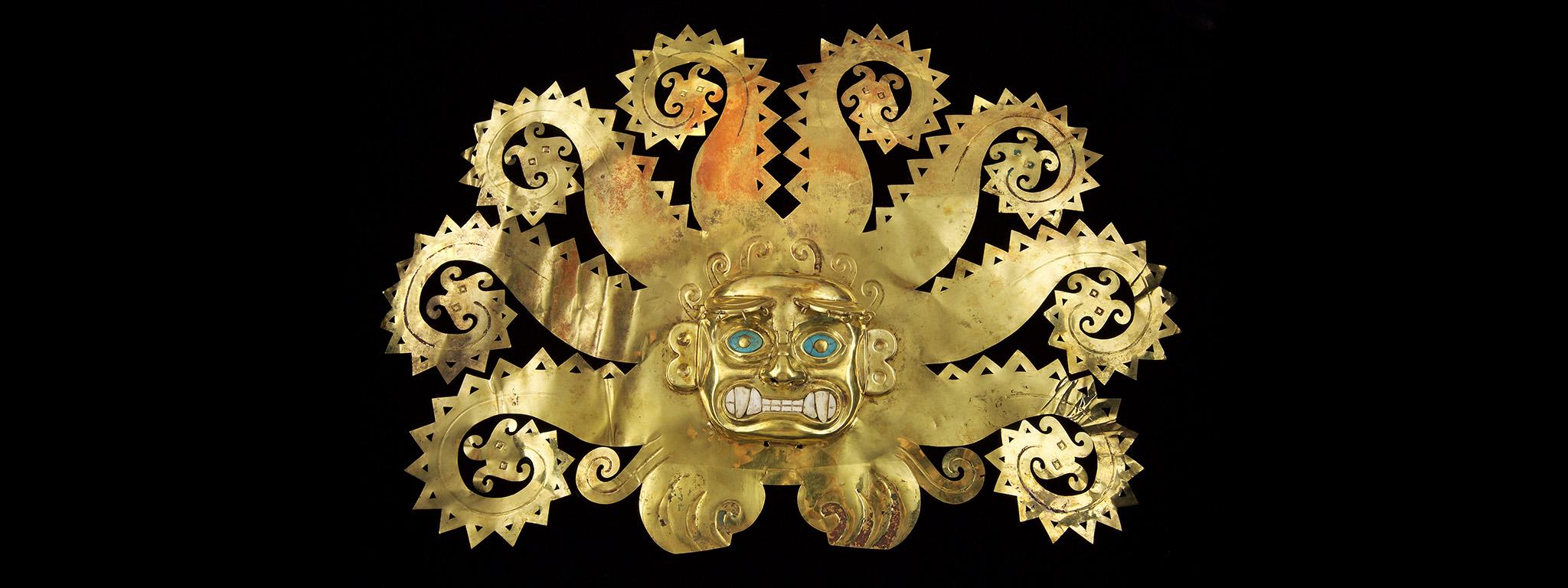 Mayan gold artifacts