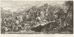Crossing of the Granicus / Audran, after Le Brun