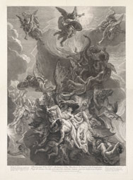 Fall of the Rebel Angels / Loir, after Le Brun