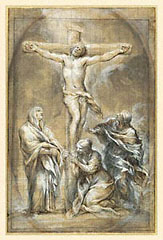 Christ on the Cross / Pietro da Cortona