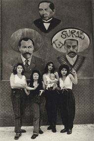 Cholas, White Fence, East L.A. / Iturbide