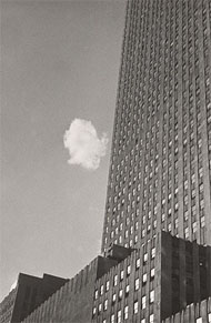 The Lost Cloud, New York / Kertesz