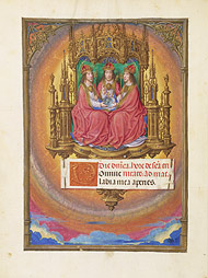 Holy Trinity Enthroned / M James IV of Scotland