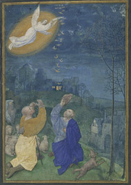 Annunciation to the Shepherds / M Houghton Miniatures