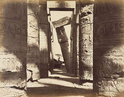 Hypostyle Hall, Temple of Amun, Karnak / Le Gray