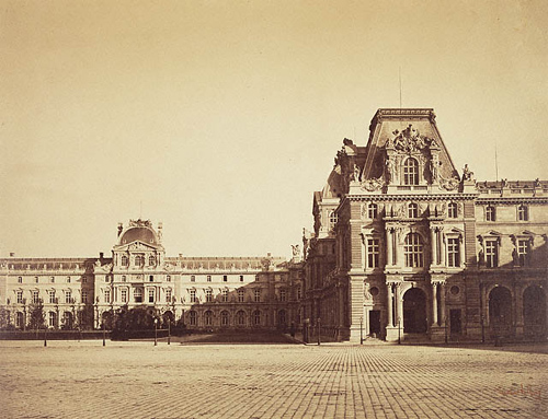 Mollien Pavilion, the Louvre / Le Gray