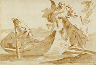 Flight into Egypt / Tiepolo