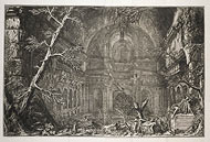 View of a Shrine / Piranesi