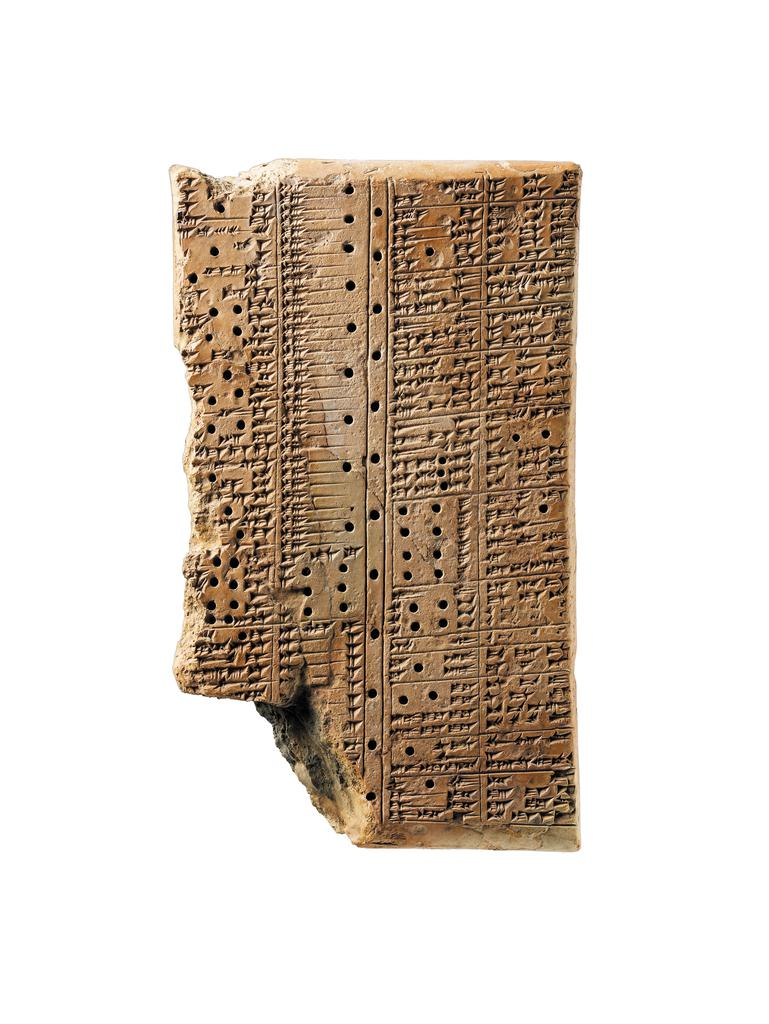 Tablet with a Bilingual Dictionary from King Ashurbanipal's Library, Neo-Assyrian period, 668–627 BC, terracotta. Musée du Louvre, Department of Near Eastern Antiquities, Paris. Géjou purchase, 1918. Image © Musée du Louvre, dist. RMN-Grand Palais / Thierry Ollivier / Art Resource, NY Photo: Franck Raux