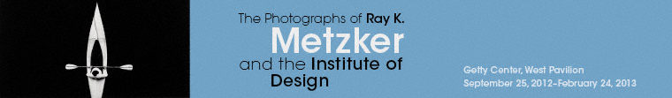 The Photographs of Ray K. Metzker and the Institute of Design