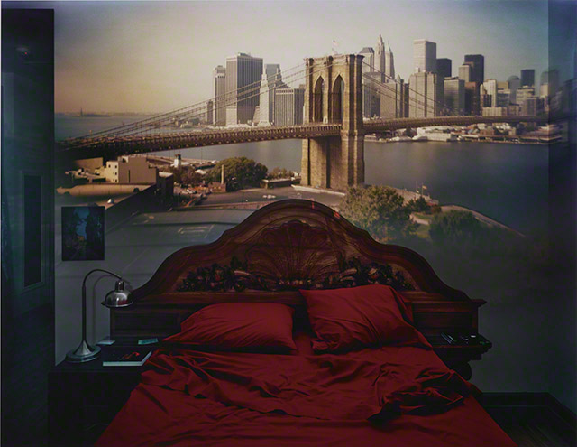 Camera Obscura: View of the Brooklyn Bridge in Bedroom