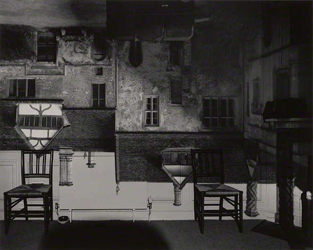 Camera Obscura: Courtyard Building, Lacock Abbey, England