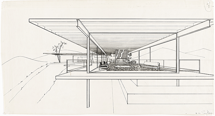 Case Study House #22 (Stahl House) by Pierre Koenig