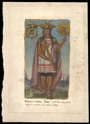 Manco Capac, First Inca Ruler / Peruvian