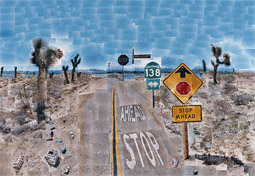 Pearblossom Highway / Hockney