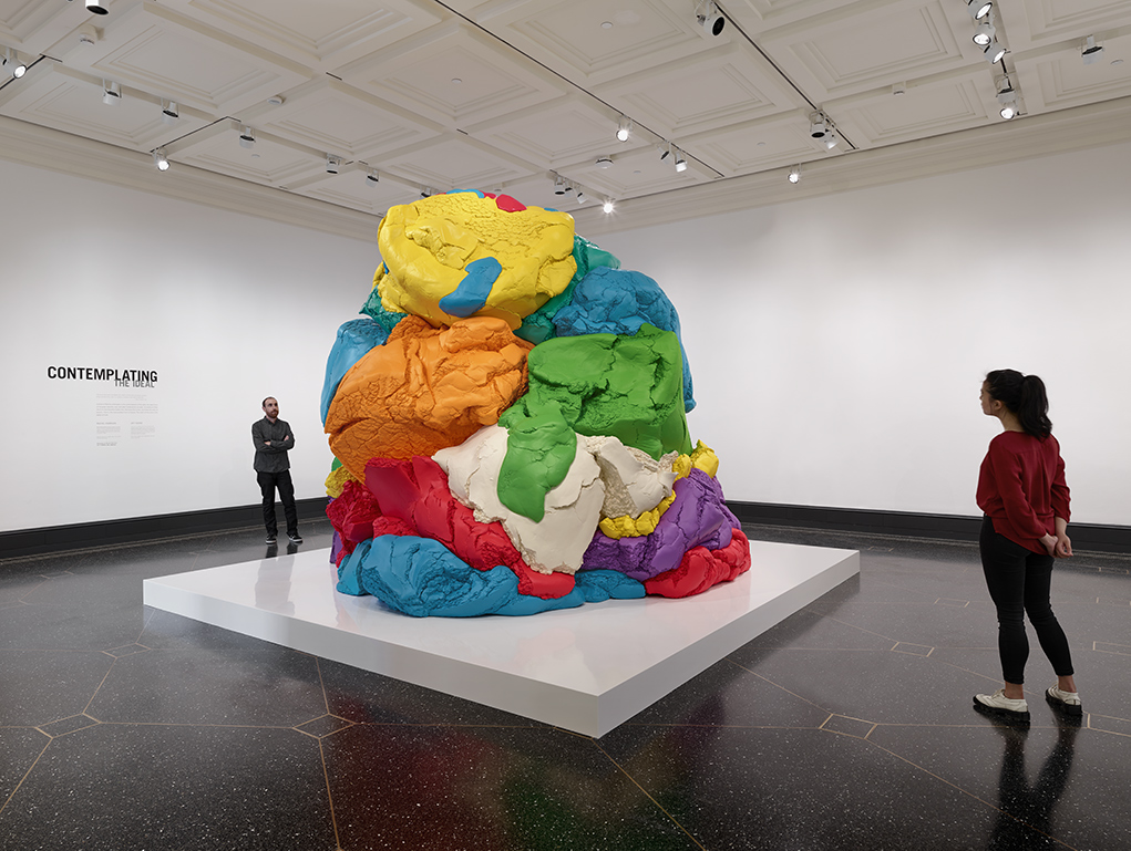 Play-Doh, 1994–2014, Jeff Koons; polychromed aluminum. Collection of the artist. © Jeff Koons