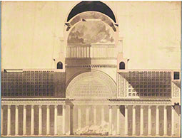Architectural Project for the Church of the Madeleine