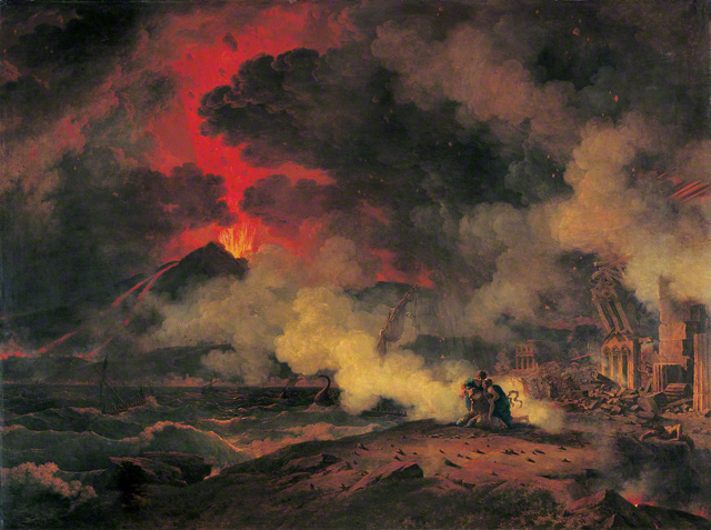 The Eruption of Vesuvius / Valenciennes