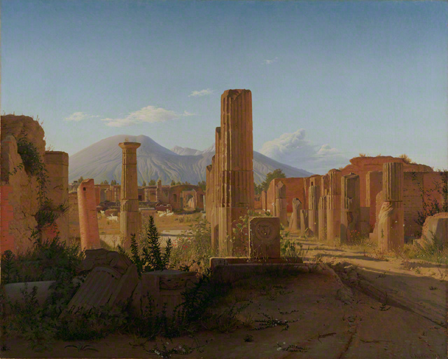 The Forum at Pompeii / Købke