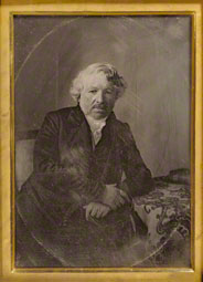 Portrait of Louis-Jacques-Mandé Daguerre, Charles Richard Meade