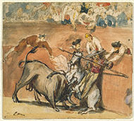 Bullfight / Manet