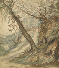 Wooded Landscape / Achtschellinck