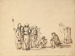 The Mocking of Christ / pupil of Rembrandt