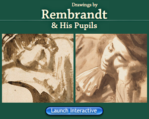 Interactive: Try telling the difference between drawings by Rembrandt and his pupils.