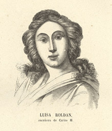 Portrait of Luisa Roldan